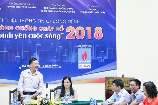 Buổi họp báo ngày 8 tháng 10 có sự đồng hành của Tổng Công ty Khí Việt Nam – CTCP