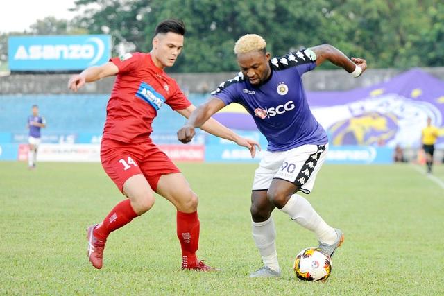 CLB Hà Nội đã không thể nâng cao kỷ lục tại V-League - Ảnh: Gia Hưng