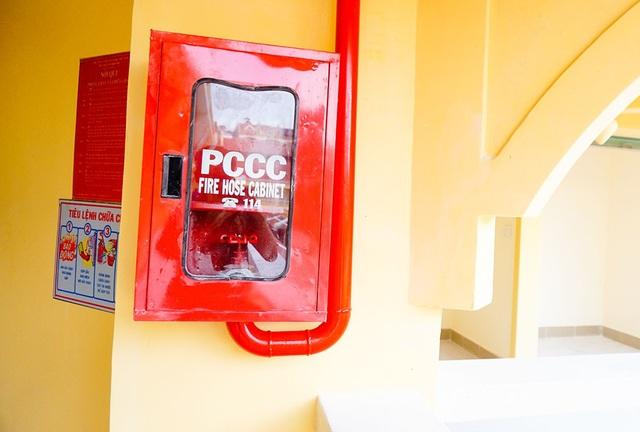 Hệ thống PCCC được thay mới toàn bộ.