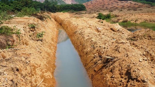 Hiện tại, ông Hoàng Văn Tạo vẫn ngang nhiên cho máy đào bới trên diện tích đất lâm nghiệp được cho là của mình.