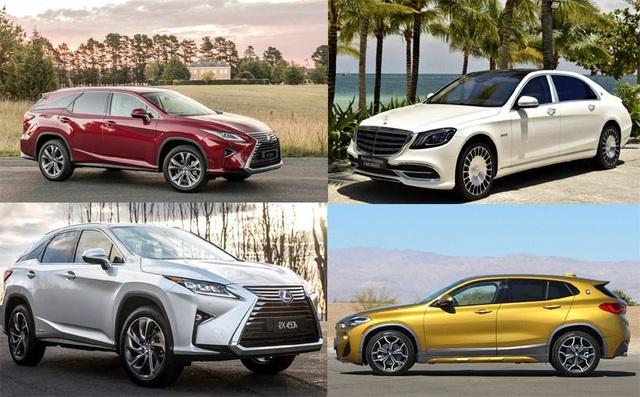 Các mẫu xe sang mới liên tiếp ra mắt