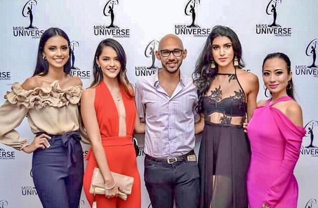 NTK Các Lâm ngồi ghế nóng cuộc thi Miss Universe Honduras 2018 - 2