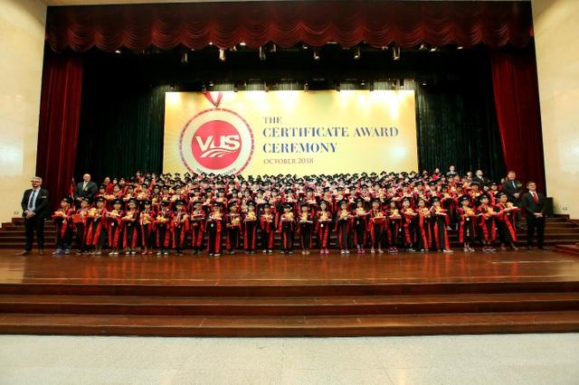 1.849 em gia nhập cộng đồng học viên tài năng VUS với chứng chỉ quốc tế giá trị.