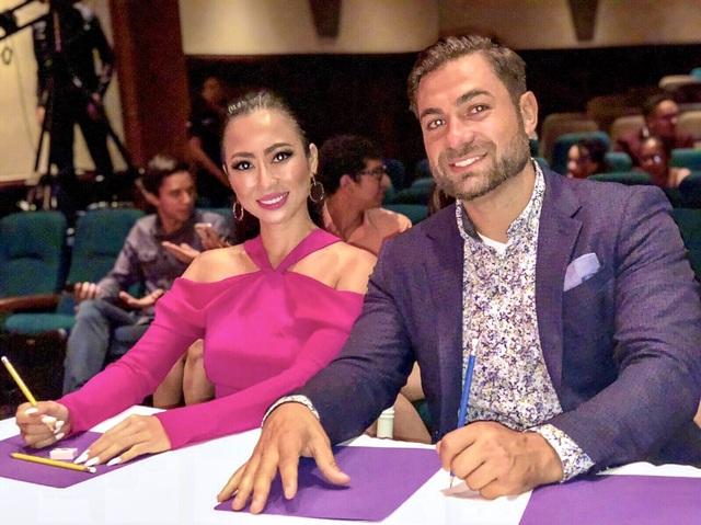 NTK Các Lâm ngồi ghế nóng cuộc thi Miss Universe Honduras 2018 - 3