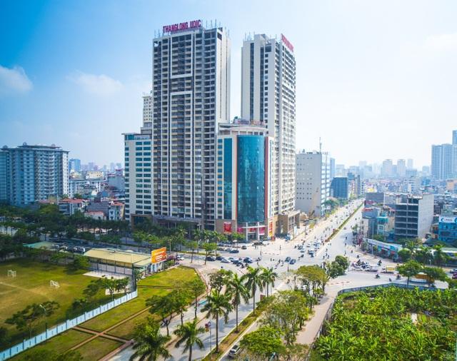 Dự án đã hoàn thiện Sun Square thu hút nhiều khách đầu tư