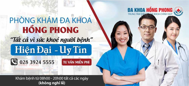 Phòng khám đa khoa Hồng Phong là cơ sở khám bệnh uy tín