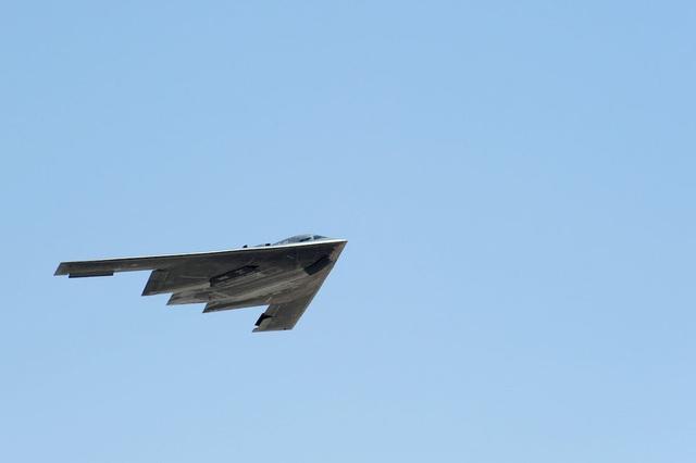Máy bay ném bom B-2 (Ảnh: US Air National Guard)