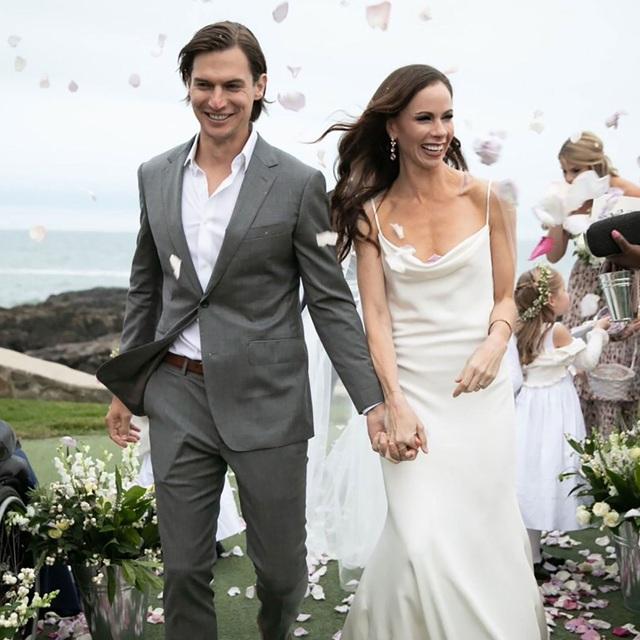 Theo Time, đám cưới được tổ chức trong bầu không khí riêng tư, thân mật và chỉ có 20 thành viên trong gia đình tham dự.