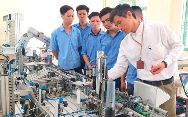 Đào tạo nghề tại trường Cao đẳng nghề Đà Nẵng (Ảnh: H.M)