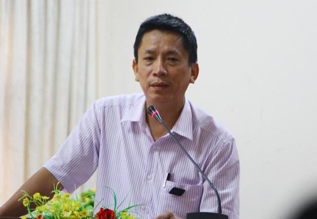 Ông Phan Văn Tuấn, Phó Giám đốc Trung tâm Bảo tồn Di tích Cố đô Huế thông tin kế hoạch di dời 4.201 hộ dân sống treo quanh Kinh thành Huế từ 2019-2021