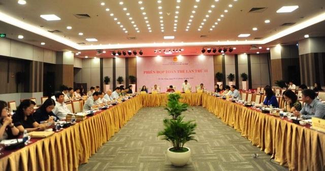 UB về Các vấn đề xã hội của Quốc hội tổ chức phiên họp toàn thể thẩm tra các báo cáo chuẩn bị cho kỳ họp thứ 6 của Quốc hội