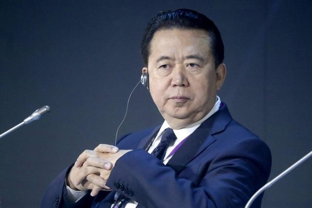 Cựu Chủ tịch Interpol Mạnh Hoành Vĩ (Ảnh: AFP)