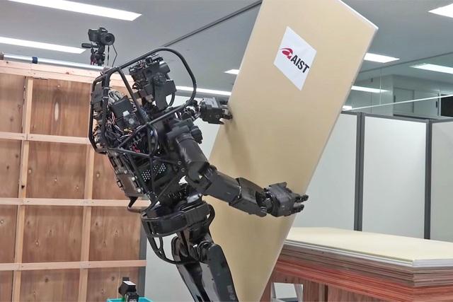 Mẫu robot xây dựng của Nhật Bản