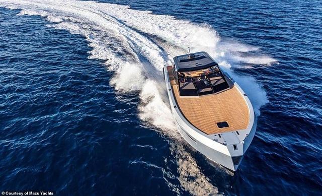 Du thuyền cao tốc sang trọng nhất thế giới với giá 24 tỉ đồng trông như thế nào? - 1