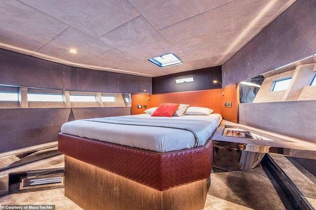 Du thuyền cao tốc sang trọng nhất thế giới với giá 24 tỉ đồng trông như thế nào? - 2