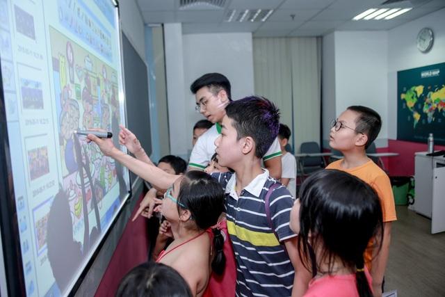 Bảng IWB hiện đang là một trong những sản phẩm công nghệ hiện đại hỗ trợ giáo dục đặc biệt là tiếng Anh hiệu quả nhất.