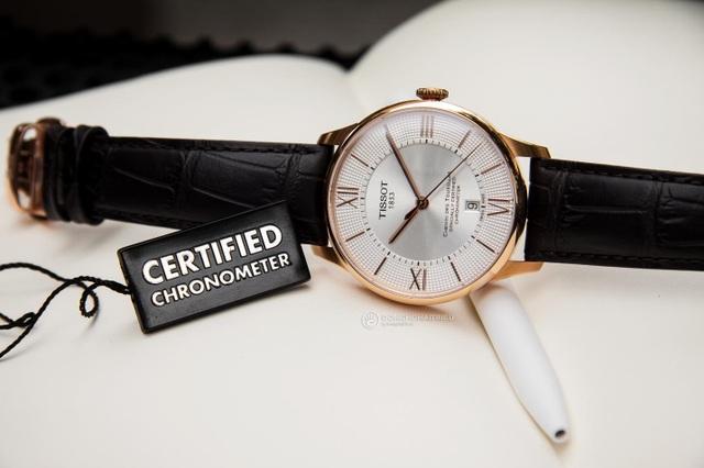 Powermatic 80 vẫn dễ dàng đạt được độ chính xác Chronometer, tiêu biểu, Tissot Chemin Des Tourelles Powermatic 80 COSC là dòng được vận hành bằng phiên bản Chronometer