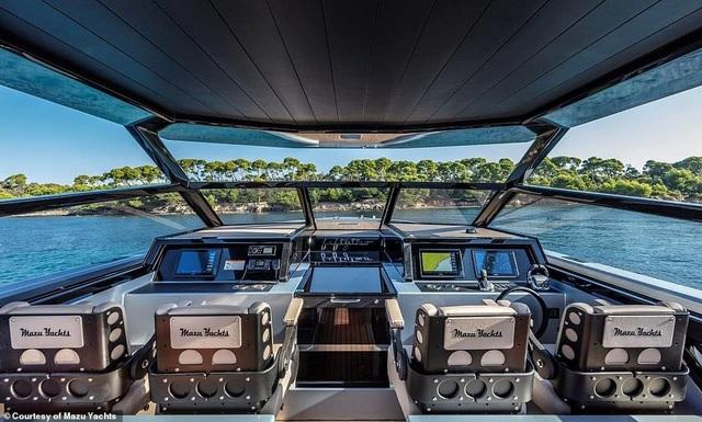 Du thuyền cao tốc sang trọng nhất thế giới với giá 24 tỉ đồng trông như thế nào? - 9