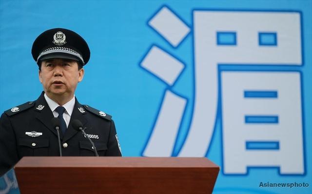 Ông Mạnh Hoành Vĩ tức giữ chức thứ trưởng Bộ Công an Trung Quốc (Ảnh: China Daily)