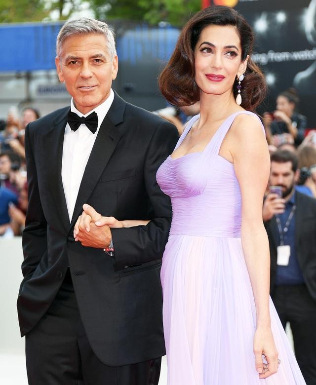 Tài tử George Clooney và nữ luật sư Amal Clooney