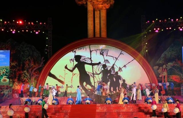 Chương trình nghệ thuật kỷ niệm 50 năm chiến thắng Truông Bồn.