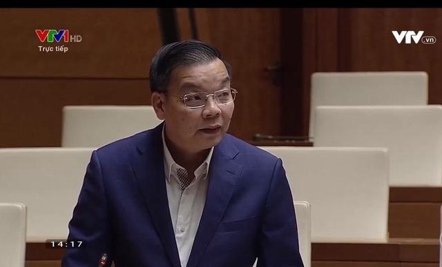 Bộ trưởng Bộ KH&CN Chu Ngọc Anh.