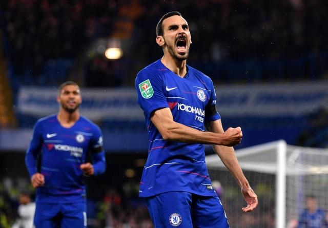 Niềm vui của Zabacosta, anh trở thành nỗi ác mộng của các cầu thủ Derby khi từ những cú tạt bóng của anh ở biên phải vào đã tạo ra hai tình huống phản lưới đội khách