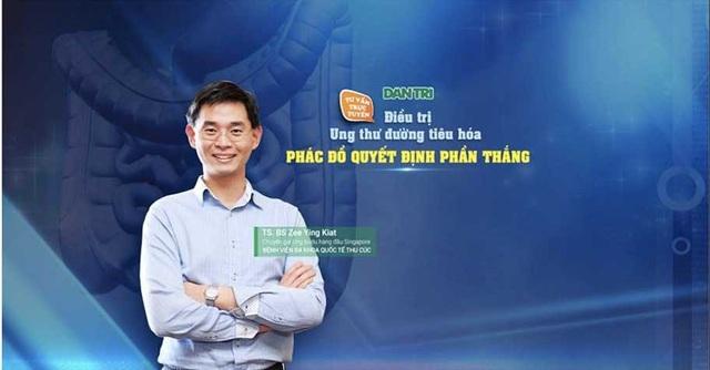 Bác sĩ Zee Ying Kiat là bác sĩ Chuyên khoa Y tế Ung thư Tư vấn tại Viện Ung thư Đại học Quốc gia, Singapore (NCIS).