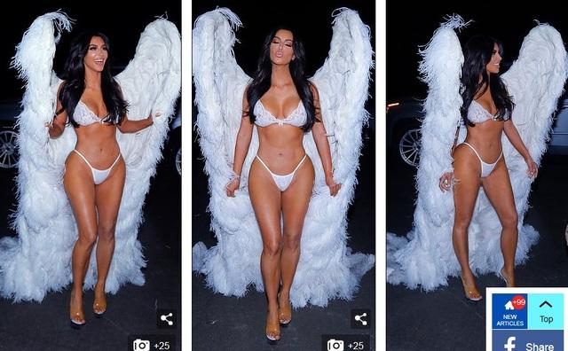 Chị em nhà Kardashians hóa thân thành thiên thần Victoria's Secret - 8