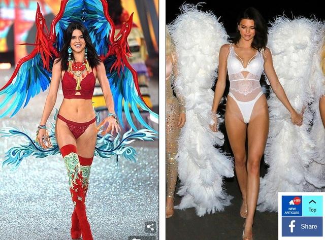Kendall đã từng trình diễn cho Victorias Secret