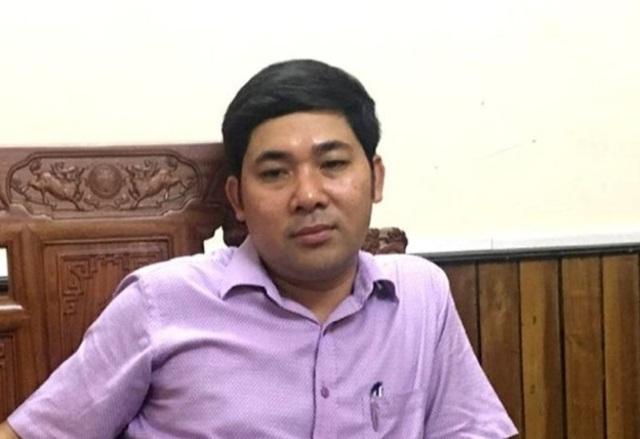 Ông Lê Văn Tuyên, Giám đốc Ban Quản lý dự án Hà Trung (Thanh Hóa).