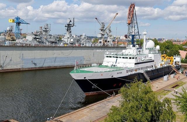 Tàu nghiên cứu hải dương Yantar biên chế vào Hải quân Nga từ năm 2015.