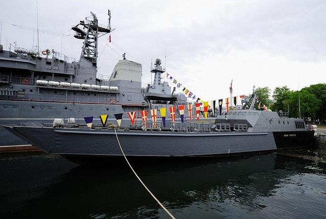 Ivan Kartsov là tàu đổ bộ Đề án 21820 mới nhất của Nga.