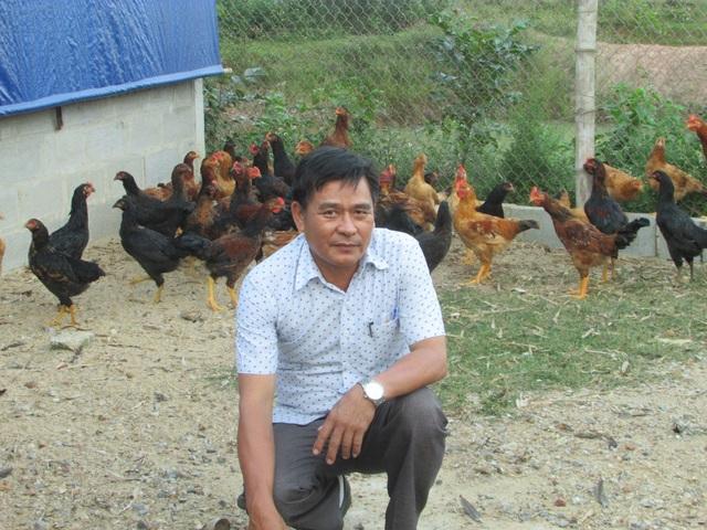 Với mô hình nuôi gà lai thả vườn, trừ các khoản chi phí, ông Mười thu về 100 triệu đồng/năm
