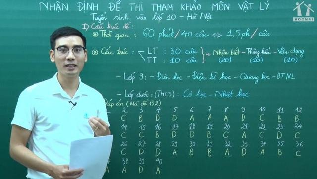 Thầy Nguyễn Quyết Thắng - Giáo viên bộ môn Vật lí