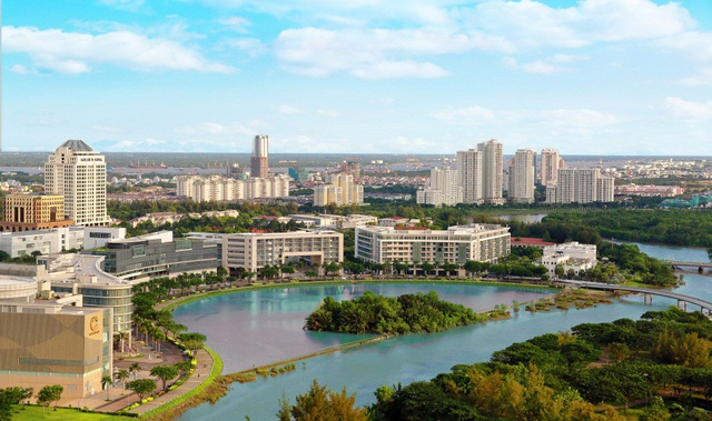 Khu đô thị quốc tế Phú Mỹ Hưng tập trung cộng đồng doanh nghiệp lớn nhất nhì TP.HCM hiện nay.