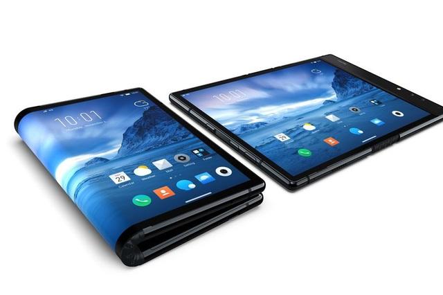 FlexPai có kích thước tương đương máy tính bảng cỡ nhỏ và có thể gập đôi lại