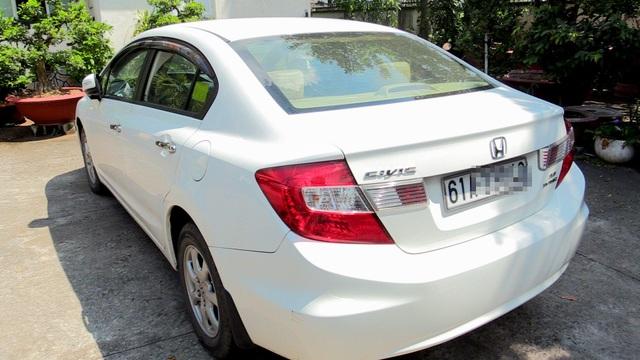 Chiếc xe ô tô Kevin Long Nguyen đã trộm.
