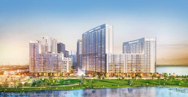 Các công trình trong khu phức hợp Midtown đều hưởng được lợi thế vị trí: cạnh bên dòng sông, công viên hoa anh đào Sakura Park và gần các công viên đô thị của khu Nam Viên