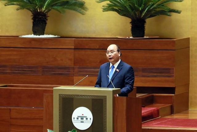 Thủ tướng chọn trả lời 5 chất vấn của các đại biểu Quốc hội đã nêu trong phiên chất vấn giữa nhiệm kỳ (ảnh: Như Phúc)