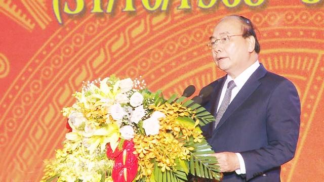 Thủ tướng Chính phủ Nguyễn Xuân Phúc phát biểu tại buổi lễ kỷ niệm.