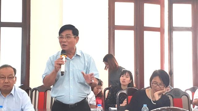 Ông Trần Quang Trung, Chủ tịch Hiệp hội sữa Việt Nam, nguyên Cục trưởng Cục An toàn thực phẩm, Bộ Y tế