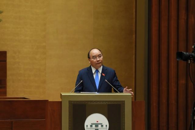 Thủ tướng bao cáo thêm một số vấn đề trước khi trực tiếp trả lời chất vấn của đại biểu
