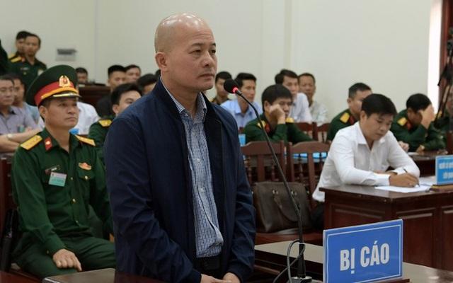 Bị cáo Đinh Ngọc Hệ tại phiên xử