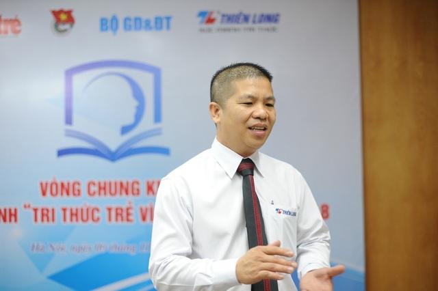 Ông Trịnh Văn Hào - Giám đốc Marketing Tập đoàn Thiên Long.
