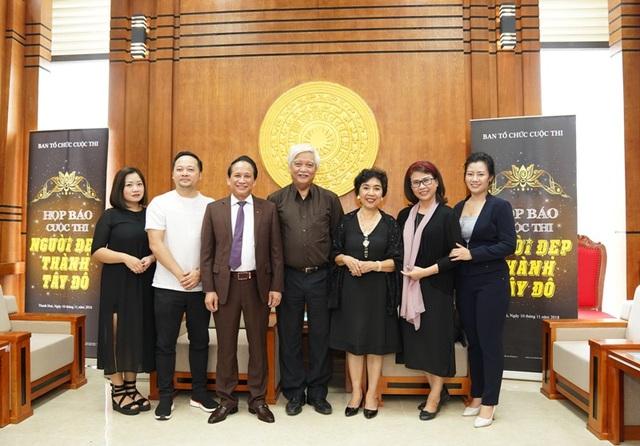 Thành phần ban giám khảo cuộc thi.