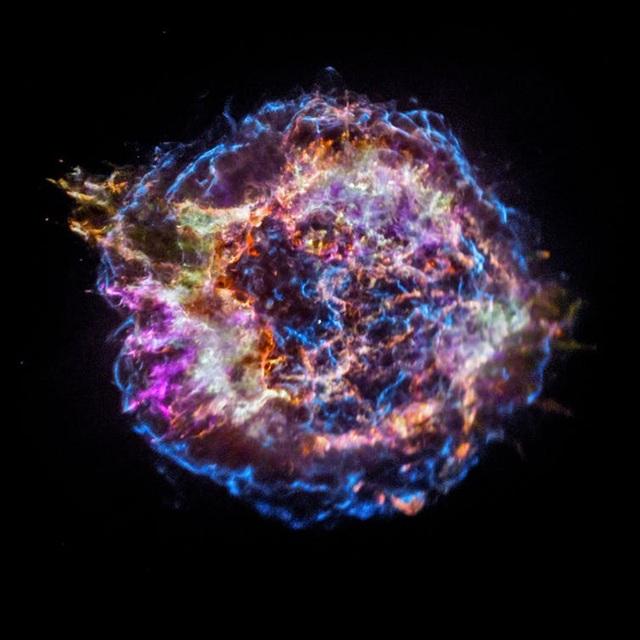 Phần còn sót lại của vụ nổ sao Thiên Hậu A.