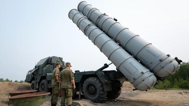 Hệ thống S-300 của Nga. (Ảnh: TASS)