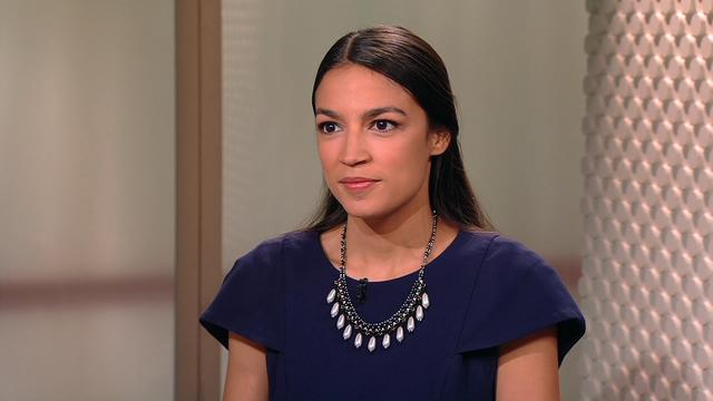Cô Alexandria Ocasio-Cortez (Ảnh: PBS)