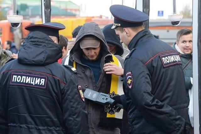 Các sĩ quan cảnh sát Nga. Ảnh minh họa